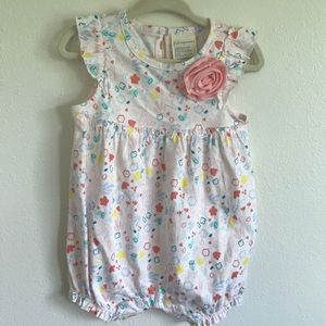 First Impressions 12 month girl romper-NWT